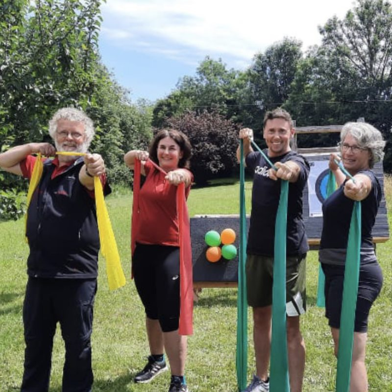 neues Angebot: Funktionelles Training und Bogenschießen